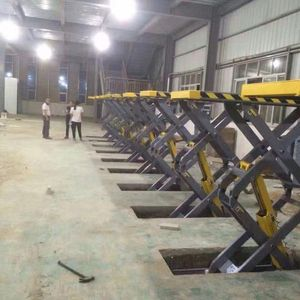 3500kg Hydraulic Portable Auto Scissor Jack Car Lift
