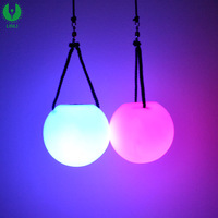 Custom Fashion Sport Ball, Cheap Mini 7 Color Led Glow Ball With Logo