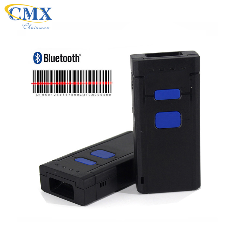 1D 2D Bluetooth 4.0 Wireless IOS Android mini Bluetooth barcode scanner