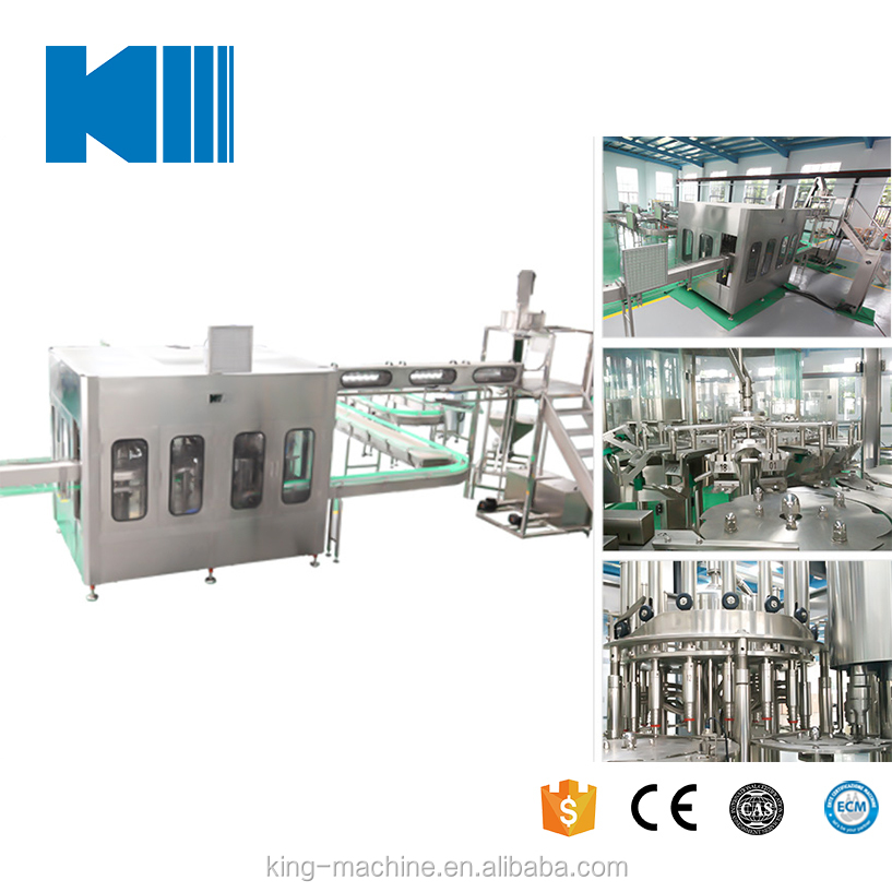 A to Z Line Soft Drinking Water Bottling / Filling Machine