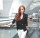 Fashion Women Long Sleeve Lace Crochet Blazer Small Jacket Suit