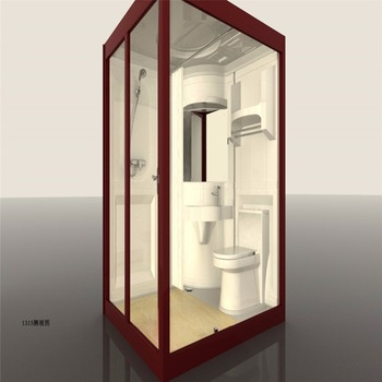 Modular Portable All In One Bathroom