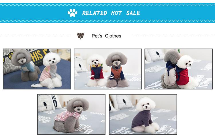 Venta al por mayor personalizar varios perro ropa y accesorios