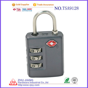 high quality wholesale tsa digital safe luggage zipper lock