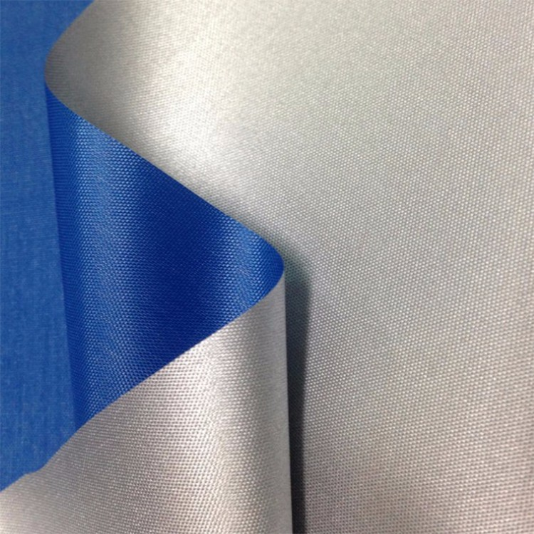 silver coated umbrella fabric/ 170t taffeta waterproof fabric/ pu back coating wholesales
