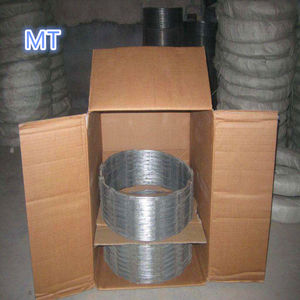 450mm razor barbed wire carton box stainleess steel material