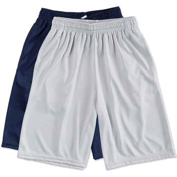 summer custom mens running sports basketball 100% polyester performance pocket sweat shorts