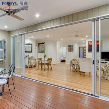European Style Aluminum Exterior Glass Sliding Door For Office Buy