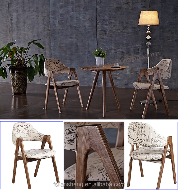 Antique Wood Frame Banquet Chairs/ Wooden Imitation Hotel Dining Chair/used  Upholstered Hotel Furniture