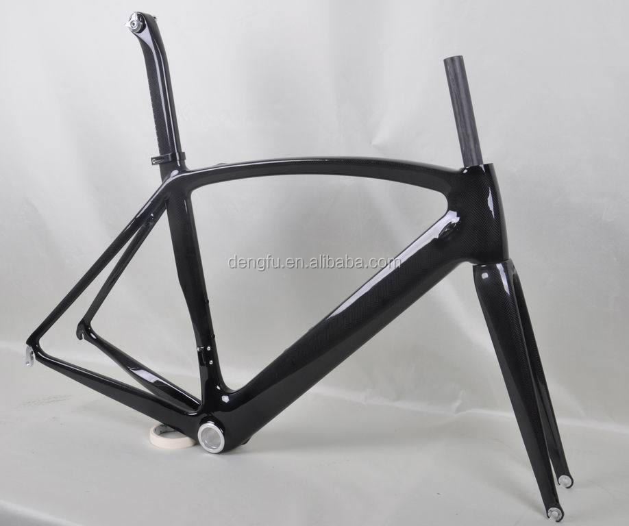 Dengfu Bikes Carbon Road Bicycle Frame,Carbon Road Bike Frame Fm098 ...