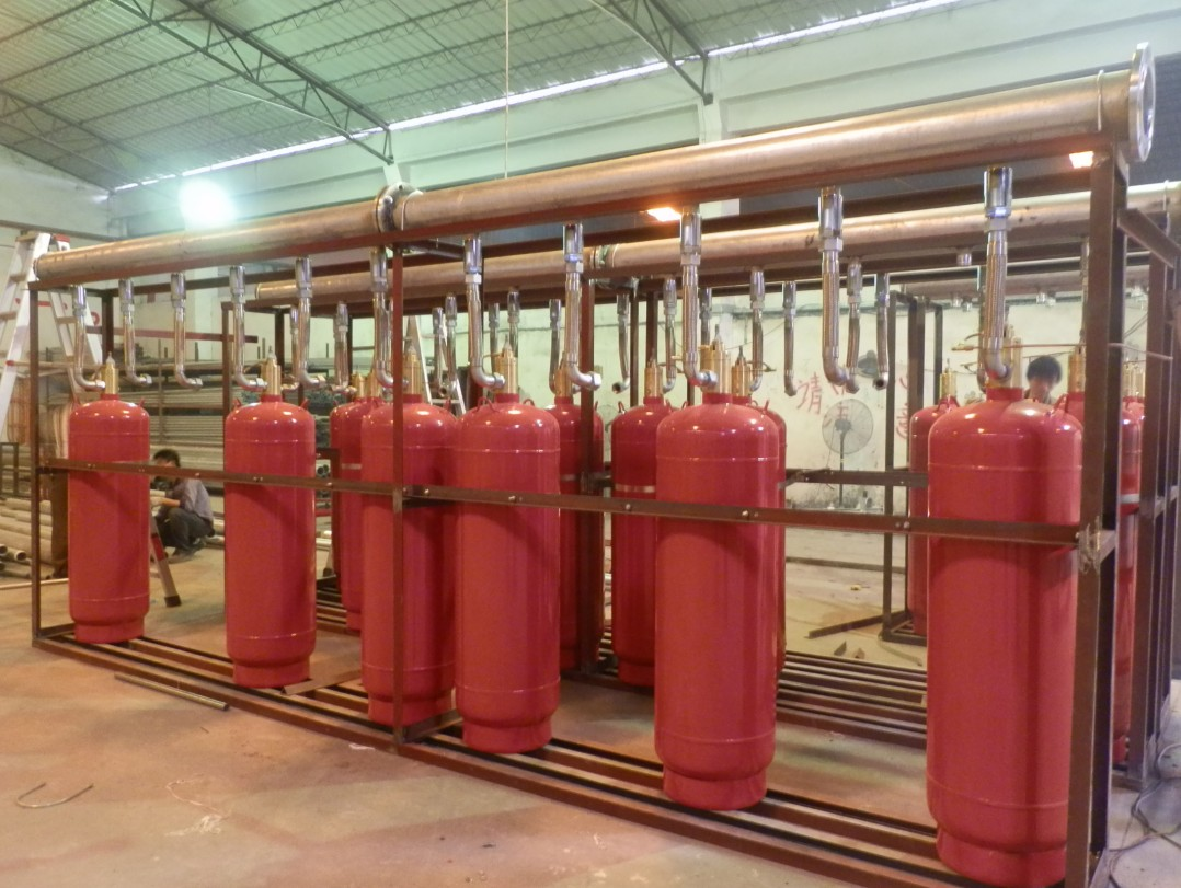 Fm200 Gas Fire Fighting System Piping Fire Fighting System