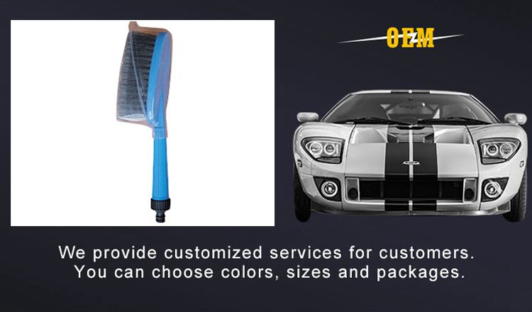 Wholesale Customized soft PVC car cleaning brush