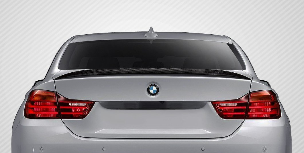 2014-2016 BMW 4 Series F32 Carbon Creations M Performance Look Wing Trunk Lid Spoiler - 1 Piece