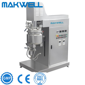 Reliable Supplier Vacuum Emulsifying Mixer Small Soap Making Machine