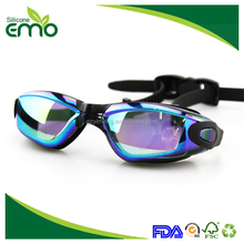 High Quality Promotional Professional Fashion Waterproof Anti Fog Swimming Goggles