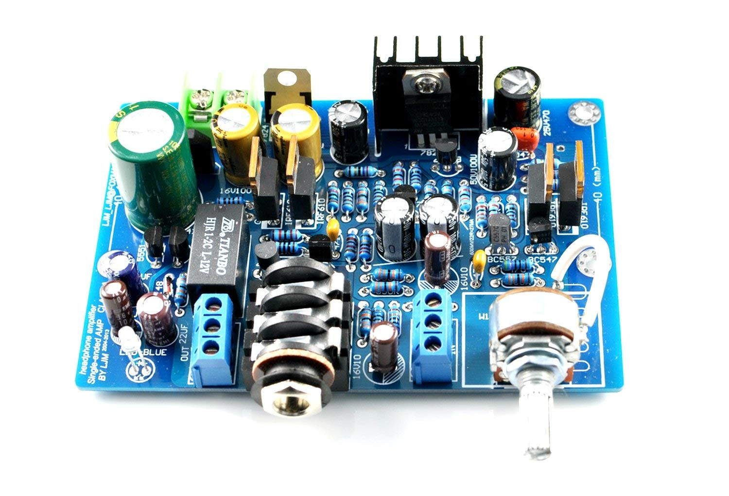 Cheap Mosfet Amplifier Circuit Find Deals 600 Watt Power With Pcb Diy Get Quotations Irf610 Single Ended Class A Headphone Kit