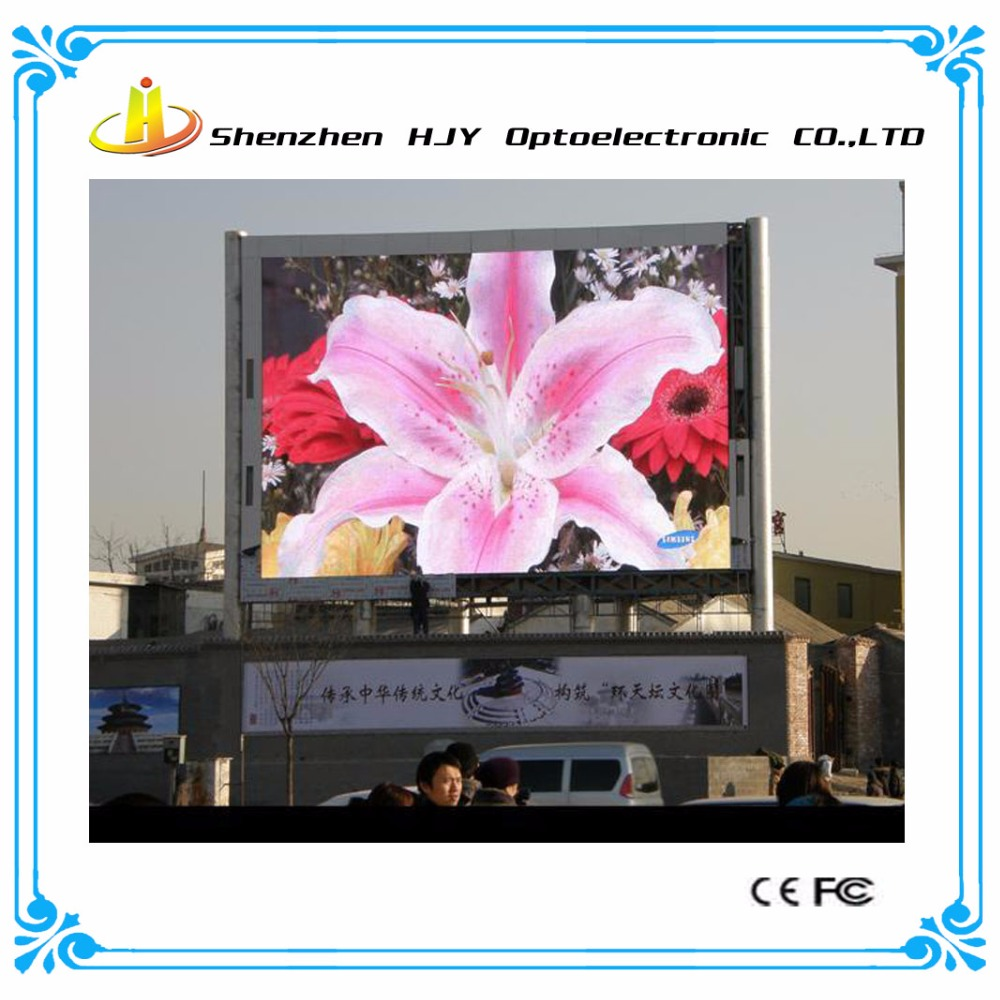 Best quality high power p6 rental led screen outdoor