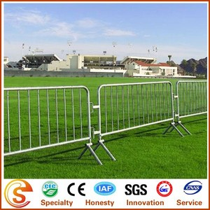 Easily assembled portable fence electric galvanized temporary fence