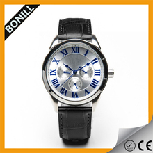 NEW STAINLESS STEEL LUXURY DATE CHRONOGRAPH ANALOG QUARTZ SPORT CLOCK MENS WRIST WATCH