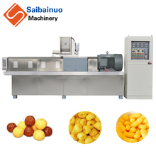 golden supper puff snacks production line