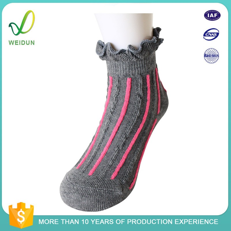 Teen Young Girls Silicon Rubber Bulk Wholesale Socks