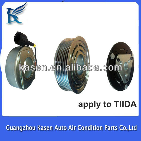 12V 7PK for Nissan Tiida auto ac compressor clutch