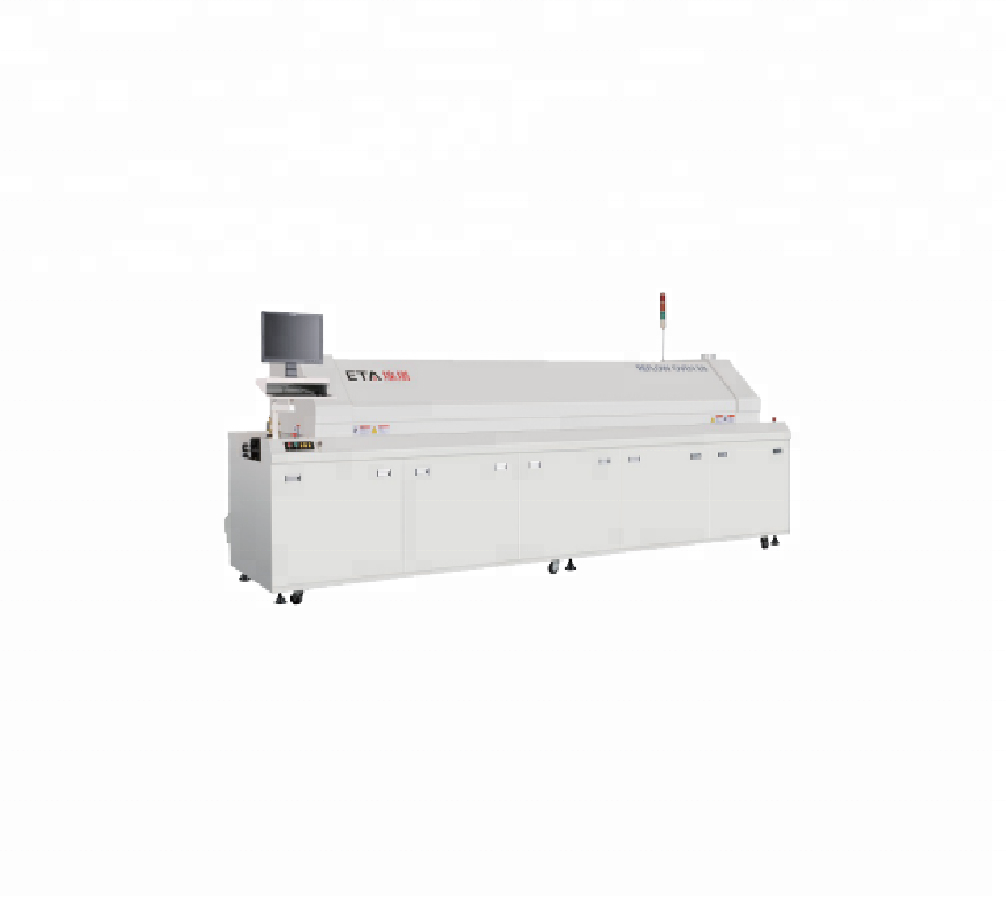 ETA Factory Lead Free Infrared and Hot Air Reflow Oven for BGA Soldering E8 With 8 Zones