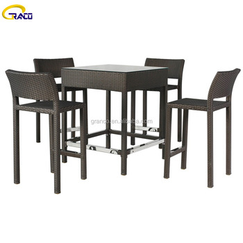 Magnificent Cheap Cost 4 Seater Rattan Bar Table And High Chairs Outdoor Wicker Bar Set Buy Outdoor Wicker Bar Set Wicker Bar Set Outdoor Bar Set Product On Ocoug Best Dining Table And Chair Ideas Images Ocougorg
