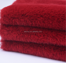hot sale 100% polyester heavy-weight rabbit fur