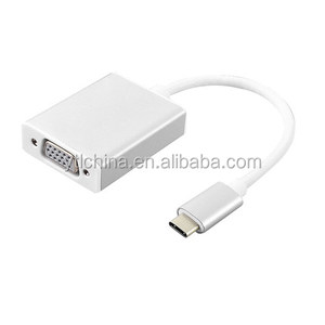 top usb typ c to vga female adapter with usb c 3.0