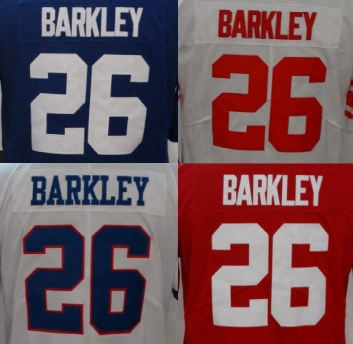 low priced b75dc 0d3b2 Customized Saquon Barkley Best Quality Stitched Jersey - Buy Saquon Barkley  Jersey,American Football Jersey,Saquon Barkley New York Jersey Product on  ...