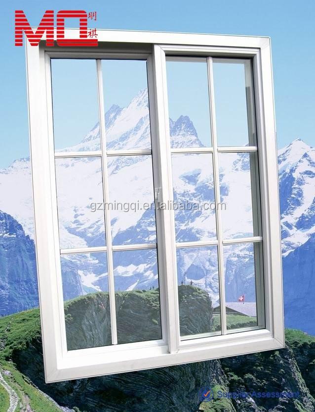 Scorrevole vetrata esterno porte con un design griglia vetrino id prodotto 629026611 italian - Griglia regolabile protezione finestre ...