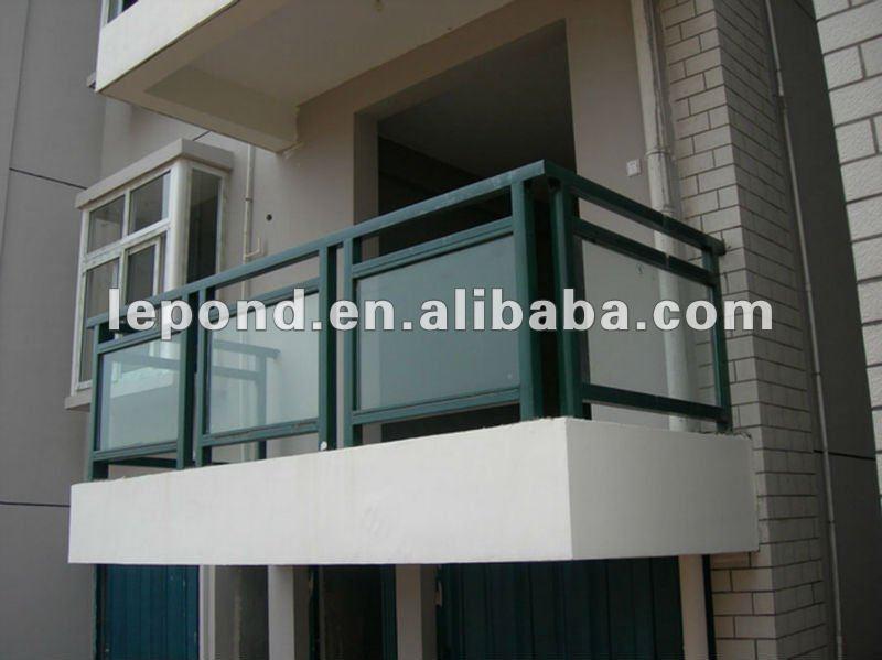 8mm cristal templado balc n barandilla de la escalera - Balcones de cristal ...