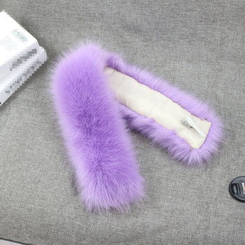 Luxurious Long Hair Colorful Faux Fur Trim in Animal Fur For Fashion Apparel Collar