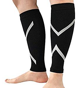 22ea5e2bf2 Get Quotations · Nlife Best Calf Compression Sleeve Calf Support Shin  Support - Eases Shin Splints and Reduces Fatigue