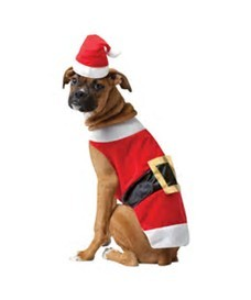 Creative Dog Best selling casual christmas polar fleece pet costumes wholesale