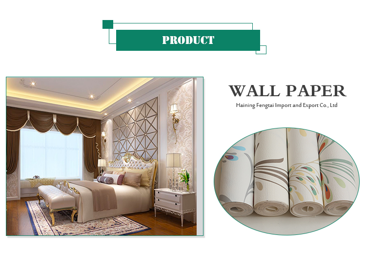 High Quality Good Price Printing Materials High Strength Wall Paper 3D Home Decor