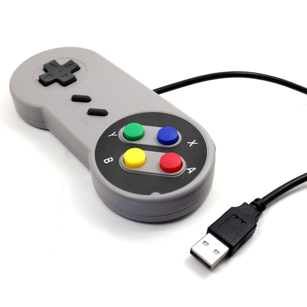 USB Controller for PC for MAC Retro Super for SNES game Controllers SEALED, wired usb pc joystick