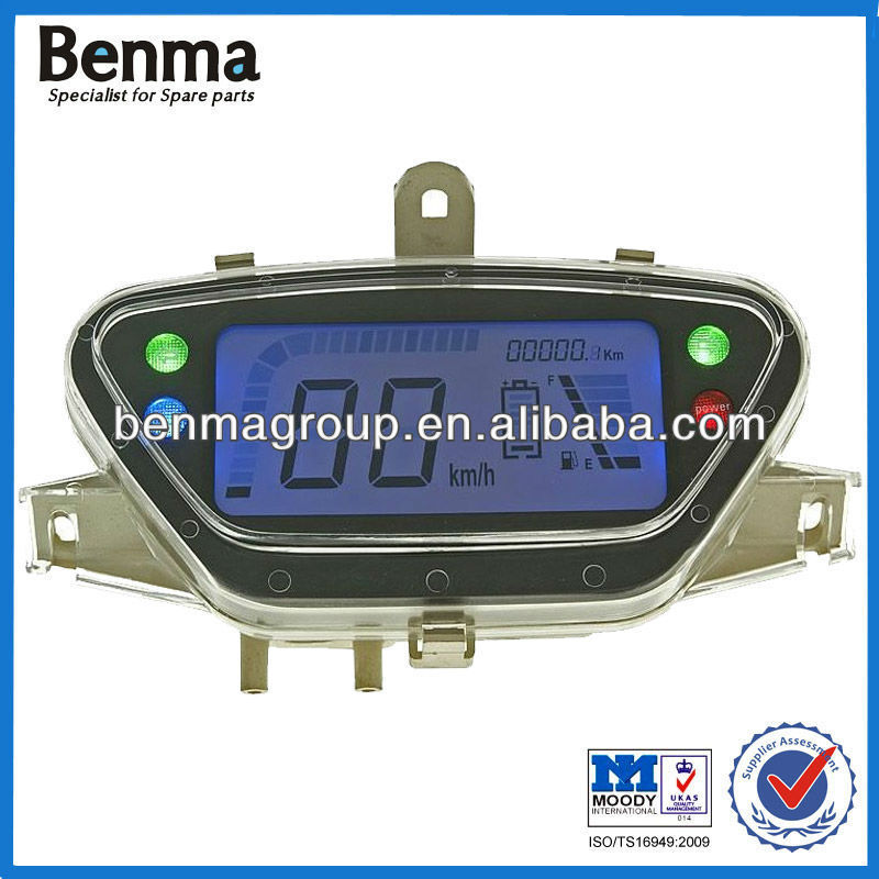 Electric Scooter LCD Digital Speedometer ,Motor Scooter Digital LCD Display Speedometer ,Hot sell Speedomter for Wholesale !