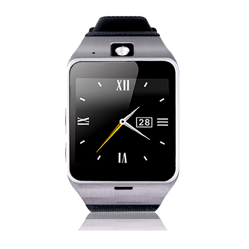 HOT selling GV18 Aplus smart watch phone NFC camera pedometer smartwatch 450nah exchangeable battery android wristwatch phone