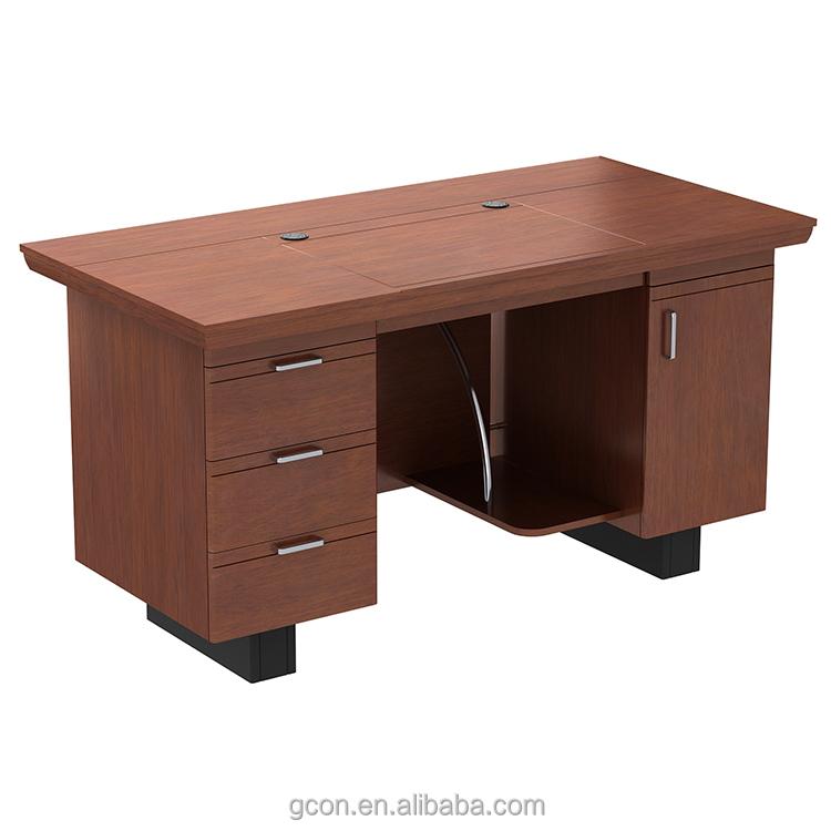 Varejista l em forma de mesa de computador, mesa de escritório e cadeira preço