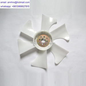 For CUMMINS ISBE engines spare parts fan blade for sale with high quality