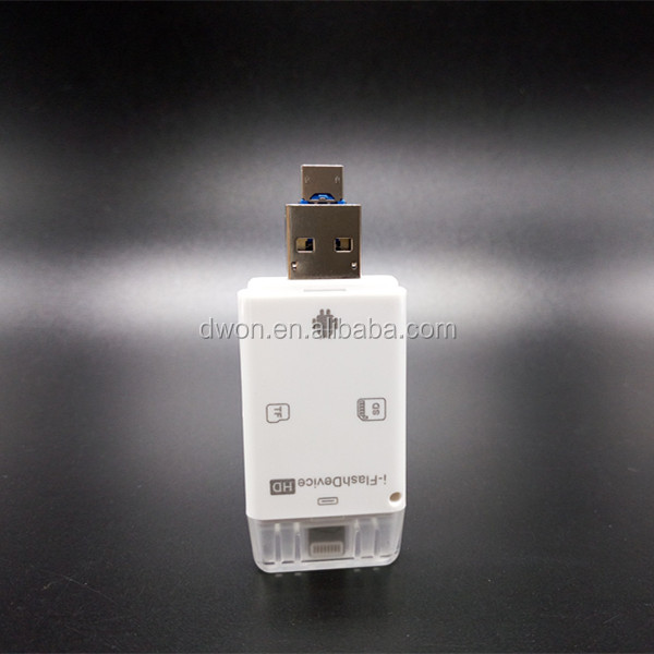 100% Customized design usb flash drives 128gb otg usb flash drive for apple iphone