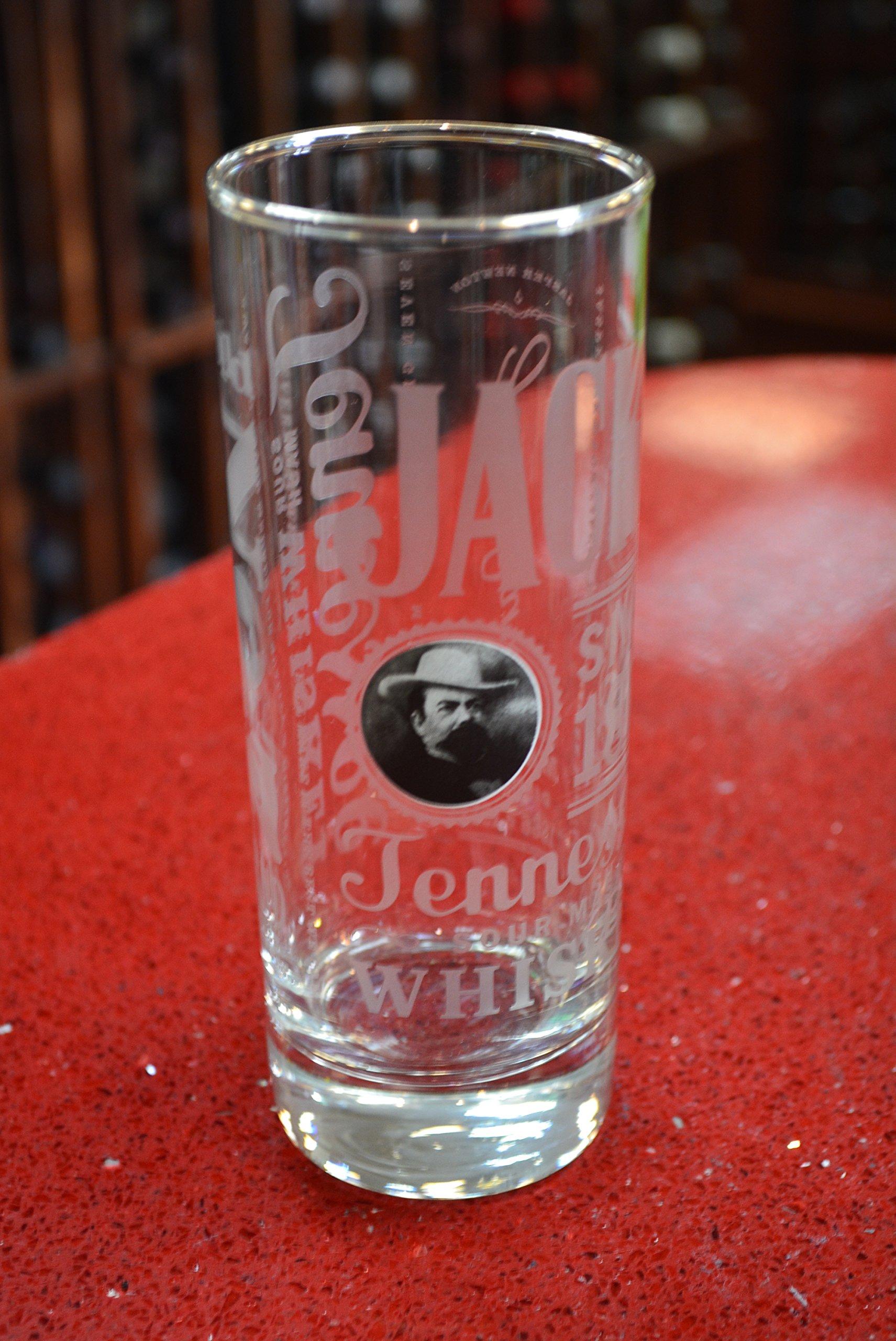 Jack Daniel's Tennessee Sour Mash Whiskey Highball Glass