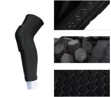 Honeycomb Pad Crashproof Antislip Basketball Leg Knee Sleeve Protector Gear