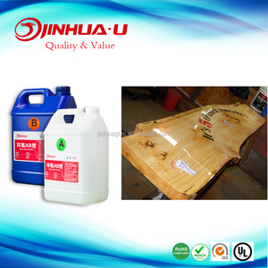 Crystal Epoxy Resin AB GLue For Kitchen counter top/ Bar top/ Table Paint