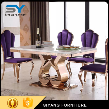 Furniture Salon Extension Dining Table Amethyst Ct006 Guangzhou Product On Alibaba