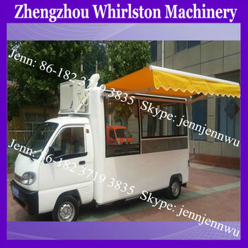 Fast Food Mobile Kitchen Trailer/mobile Food Truck/electric Food Car ...