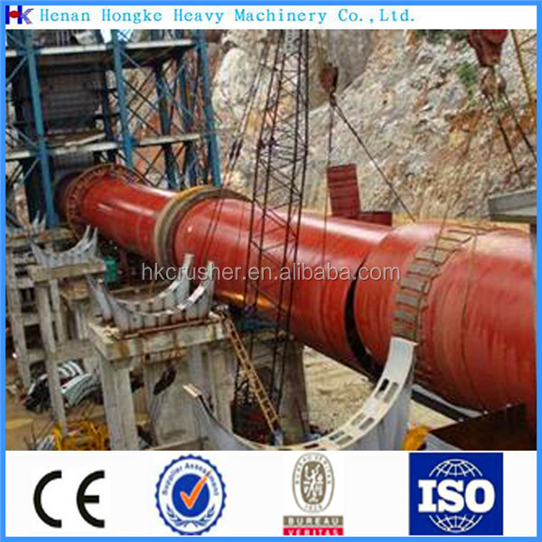 Industry metal magnesium rotary kiln equipments