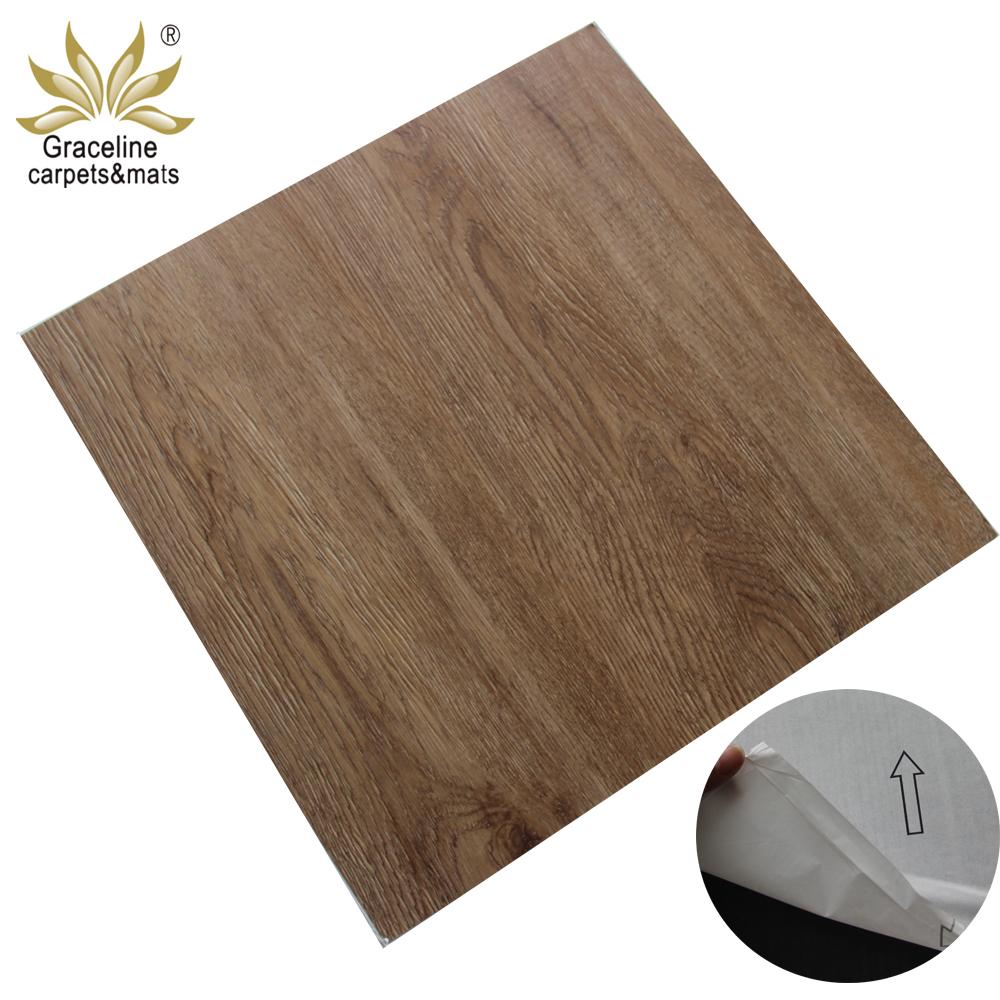 Waterproof 2mm Thickness Self Adhesive Pvc Vinyl Plank Flooring Pvc